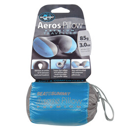 Sea to Summit Aeros Premium Pillow Traveller blue/grey